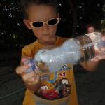Come fare una medusa in una bottiglia