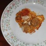 Sartu' di riso alla napoletana