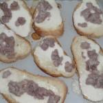 Bruschetta stracchino e salsiccia