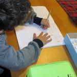 Alfabeto mobile Montessori