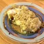 Merluzzo gratinato in padella