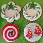 Biscotti per Natale di pasta di zucchero