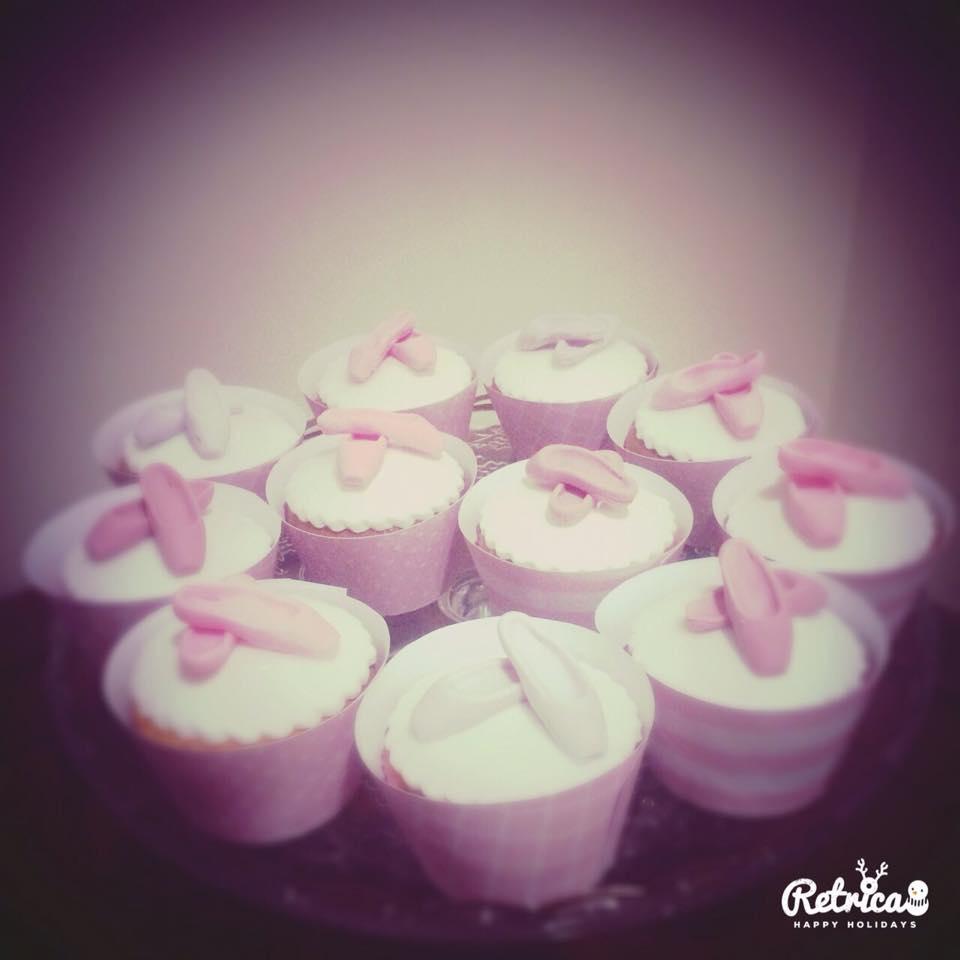 cup cake ballerina
