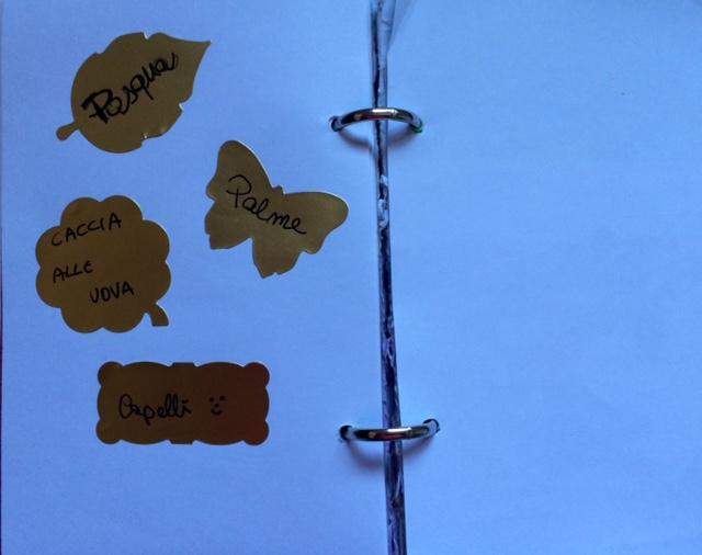 Etichette Tico oro
