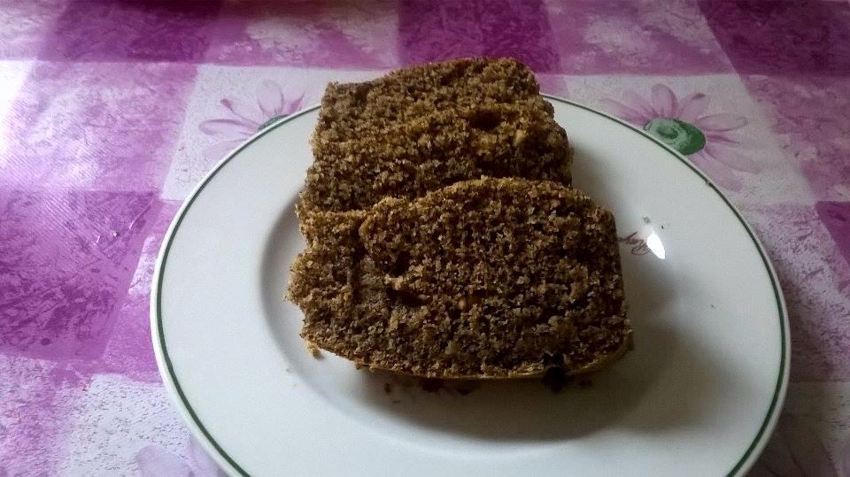 Plumcake al grano saraceno, carote e nocciole.