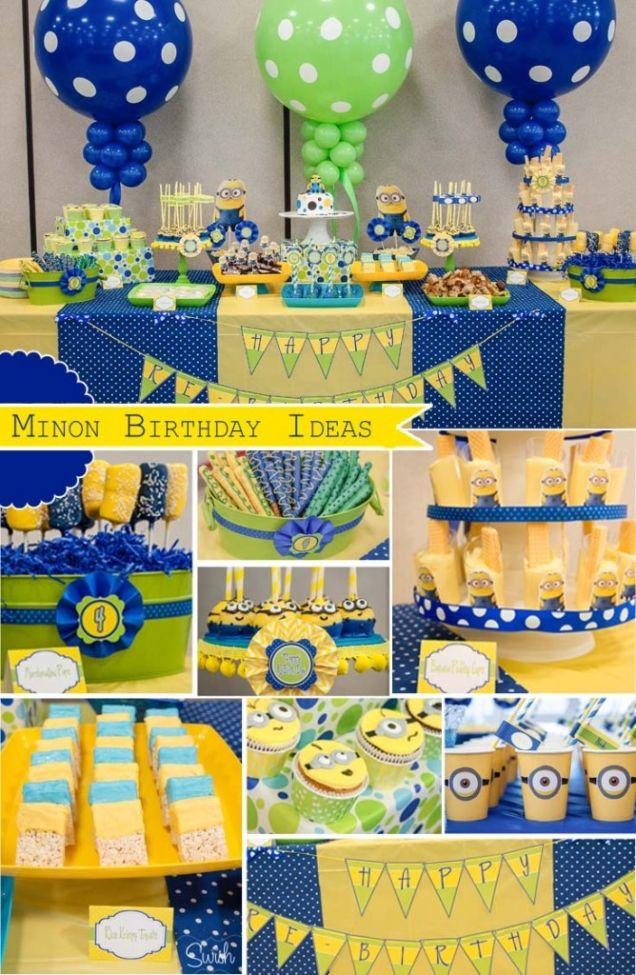 Popolare Festa di compleanno a tema Minion - supermamma HK18