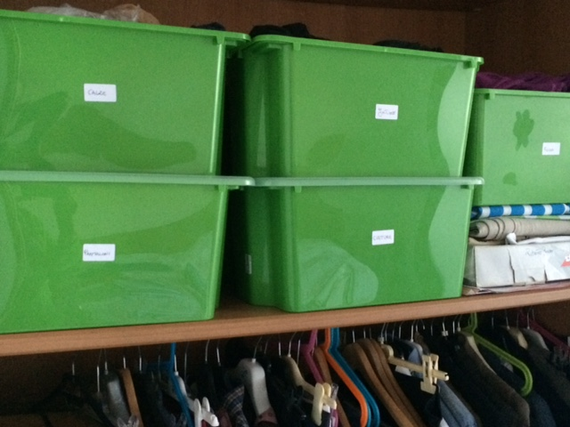 Come organizzare gli armadi di casa supermamma for Registrare gli stili di casa