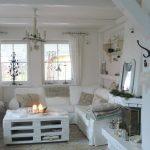 Arredamento della casa stile shabby chic