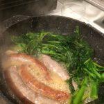 Salsiccia e friarielli o broccoli