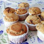 Muffin integrali per intolleranti al lattosio