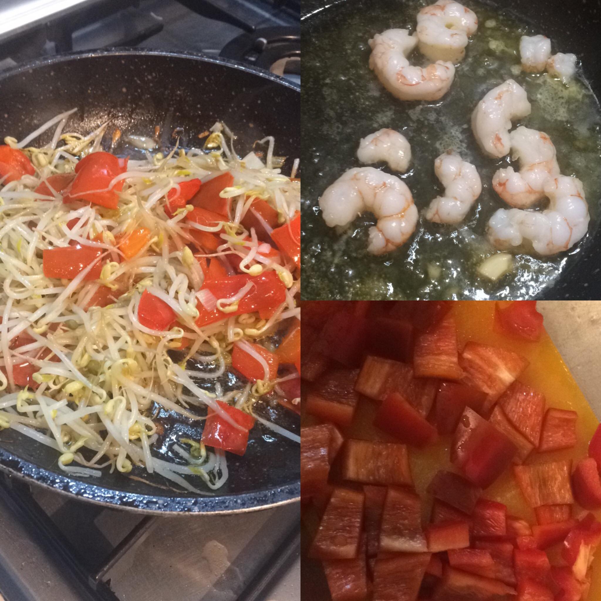Zuppa gamberi thailandese