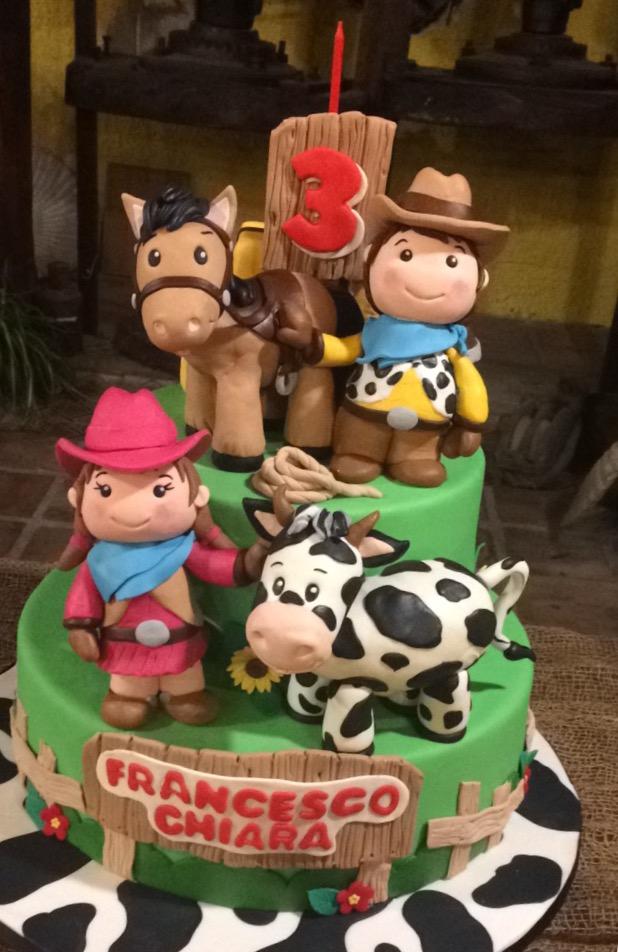 Festa di compleanno a tema vecchia fattoria