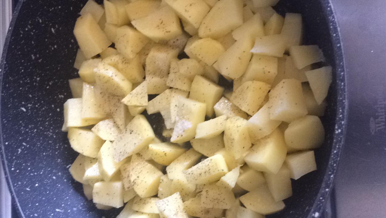 Patate e pesto