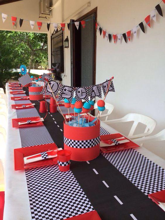 Festa di compleanno a tema cars 3 supermamma - Decoracion para cumpleanos infantiles en casa ...