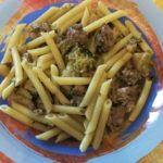 Pasta broccoli e salsiccia senza panna
