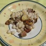 Gnocchi di patate salsiccia e zucchine