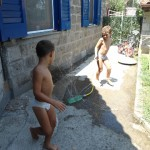 Quali giochi fare con l'acqua