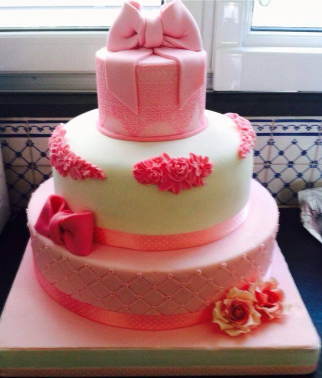 torta per un battesimo