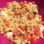 Legumi nella pasta all'insalata