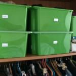Come organizzare gli armadi di casa