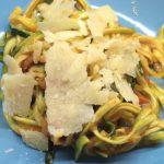 Ricetta dei zucchini pasta