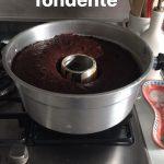 Ciambella birra e cioccolato cucinato nella pentola fornetto Versilia