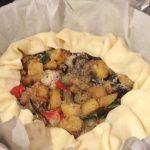 Torta salata alle verdure miste