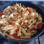 Pasta alle verdure fritte