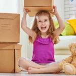 Come organizzare un trasloco a misura di bambino