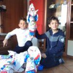 Uova di Pasqua per bambini, nuova collezione 2018.